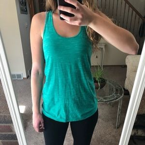 Blue Workout Tank